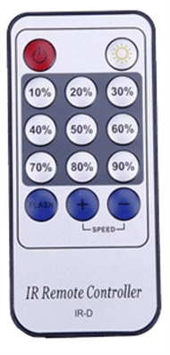 Remote control for switch T-3D Combi for LED cabinet lights