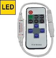 Mini LED controller with remote control RF-2D for LED strips