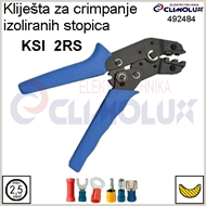 Crimping pliers for insulated crimping terminals KSI  2RS