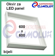 Frame for surface mounting LED panel 600x600