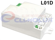 Built-in radar motion sensor for luminaires L01D