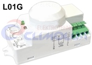Built-in radar motion sensor for luminaires L01G