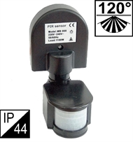 PIR motion sensor, black - TM008C