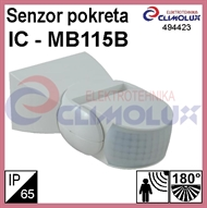 PIR motion sensor, white IP65 - MB115B