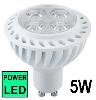 Žarulja LED GU10  5W,6500K POWER Spot