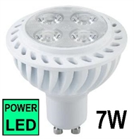 LED POWER-SPOT lampe GU10  7W, 6500K