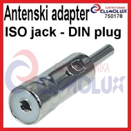Car antenna adapter ISO jack - DIN plug