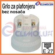 Socket ceramic lampholder E27