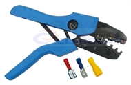 Crimping pliers for insulated flat quick-connect treminals KSI9006