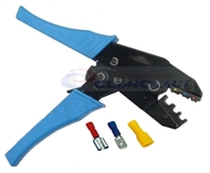 Crimping pliers for insulated flat quick-connect treminals KSI9006R