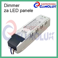 Dimmable driver for LED-panels