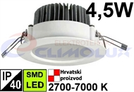 LED downlighter DL  4,5W, SMD, bijeli