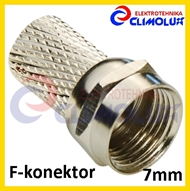 Antenna F-connector 7,0 mm TW
