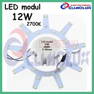 LED modul za plafonjeru 12W/27K D165mm