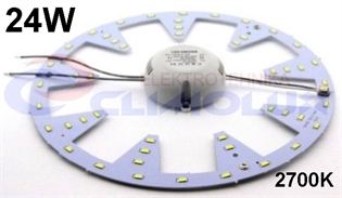 LED modul za plafonjeru 24W/27K D280mm