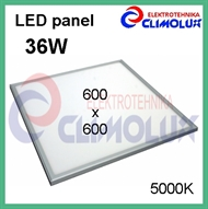 LED panel 36W/5000K 600x600 bijeli