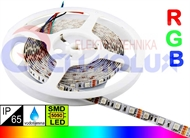LED traka RGB, IP65, SMD5050, 6W/m