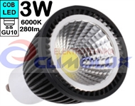LED lampe GU10 COB 3W/6000K Spotlight