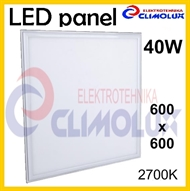 LED panel  40W/2700K 600x600 bijeli