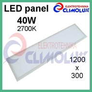 LED panel  40W/2700K 1200x300 bijeli
