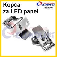Mounting clip for LED panel recessed installation