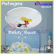 Ceiling Lamp Mickey Mouse 2xE27