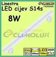 LED cijev Linestra S14s  8W 3000K, 500mm, LR