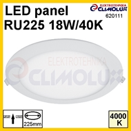 LED panel okrugli RU 18W, 4000K, ugradni, XL