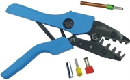 Crimping pliers for end sleeves KT-BR35