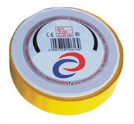PVC electrical insulating tape 10mx15mm , yellow