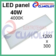 LED panel  40W/4000K 1200x300 bijeli