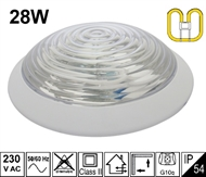 Protected wall luminaire KV-2D 28W IP54