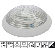 Protected wall luminaire KL-transparent 60W IP54