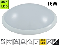 Protected wall luminaire LED MF04 16W IP54